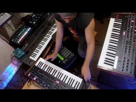 Donna Summer- I Feel Love- Luke Neptune remix(OB-6, Prophet 6, JX10, MPC, RC505, TR8)