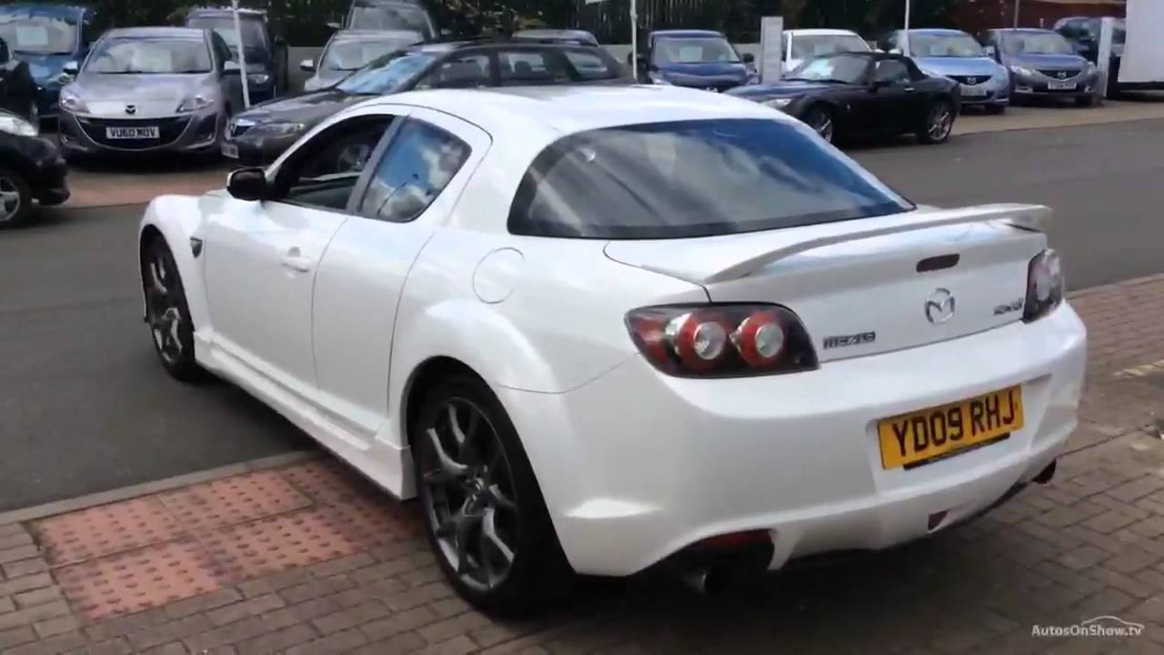 mazda rx8 r3 white 2009 - youtube