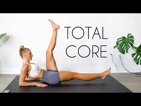 20 MIN TOTAL CORE WORKOUT (Equipment Free Ab Workout)