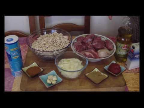 Cuisine tunisienne la bsal ou loubia youtube - Youtube cuisine tunisienne ...