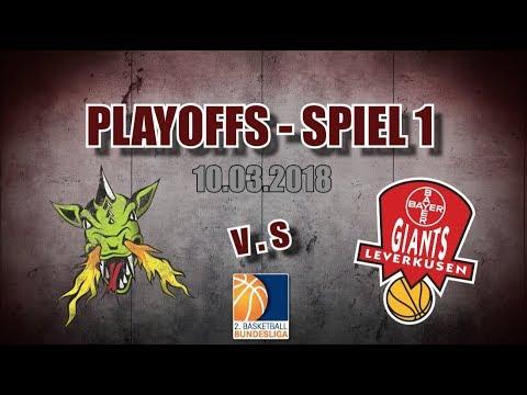 Playoffs – Spiel 1   10.03.2018   Artland Dragons gegen Leverkusen Giants