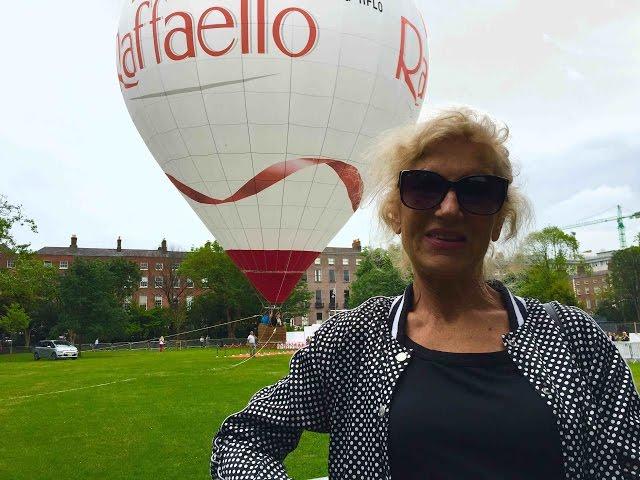 Raffaello ir draugu diena Merion skvere Dubline - Silvija Travel Tips