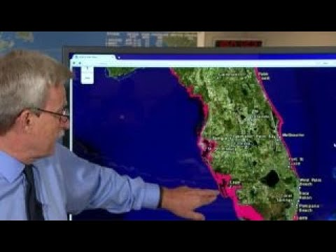 National Hurricane Center provides an update on Irma