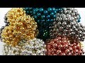 4800 Magnetic Balls Sculpture, a Ball of Balls of Neoballs | Magnetic Games