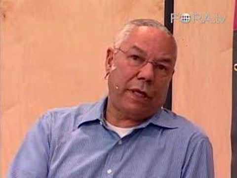 "Gen. Colin Powell - ""I Tried To Avoid This War."""