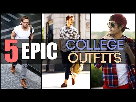 5 EPIC COLLEGE OUTFITS Every Young Man Needs | Classic Men's Look-Book | Mayank Bhattacharya