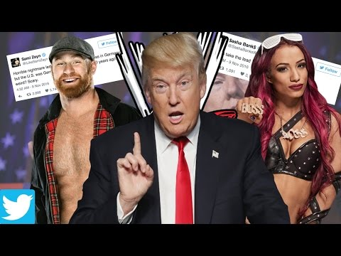 WWE Stars React To Donald Trump Becoming President!!