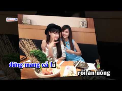 Xin loi Anh chi co 100k full beat - Karaoke by KDL
