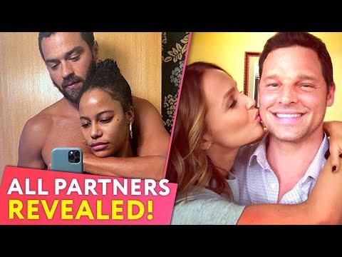 Grey's Anatomy: Real-life Partners 2019 Revealed |⭐ OSSA Radar