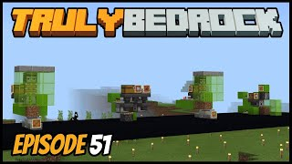 4 Micro Crop Farms And New Base Plan! - Truly Bedrock (Minecraft Survival Let's Play) Episode 51