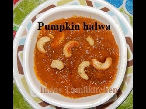 Yellow Pumpkin/Parangikai Halwa -Indus Tamilkitchen