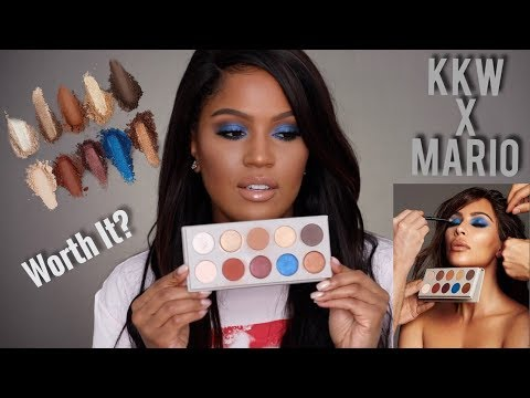 NEW: KKW BEAUTY x MARIO Review & First Impressions | MakeupShayla thumbnail