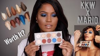 NEW: KKW BEAUTY x MARIO Review & First Impressions | MakeupShayla