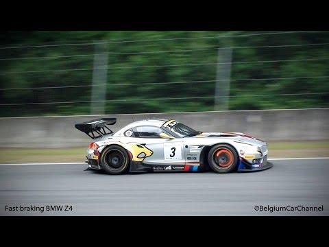BMW Z4 E89 GT3 - Best GT3 Sound of 2013 ? Loud V8 sounds