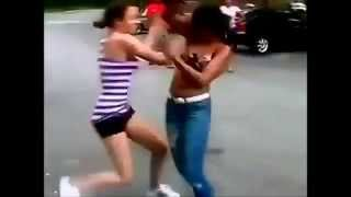Sexy Girl Brutal Fight 2015