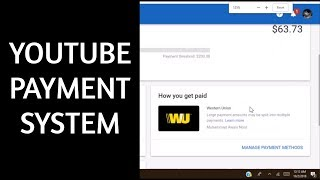 YOUTUBE PAYMENT SYSTEM 2018