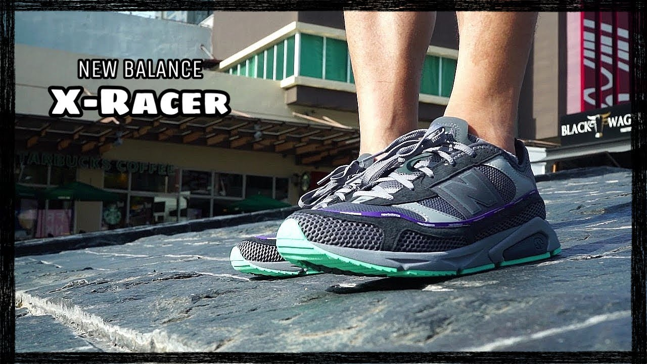 NEW BALANCE X RACER: first impressions, close ups, on feet (featuring FRESH!)