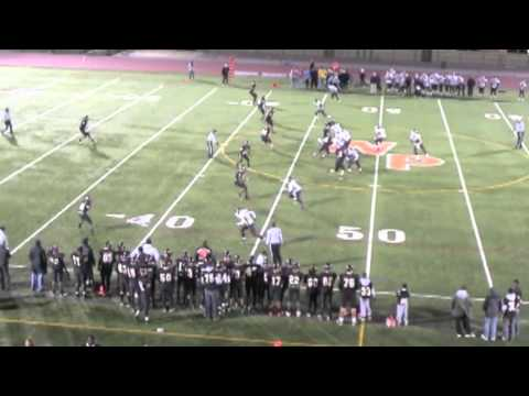 Ryan Brooks #16 Class of 2012 Sr. Highlights White Plains High School Football