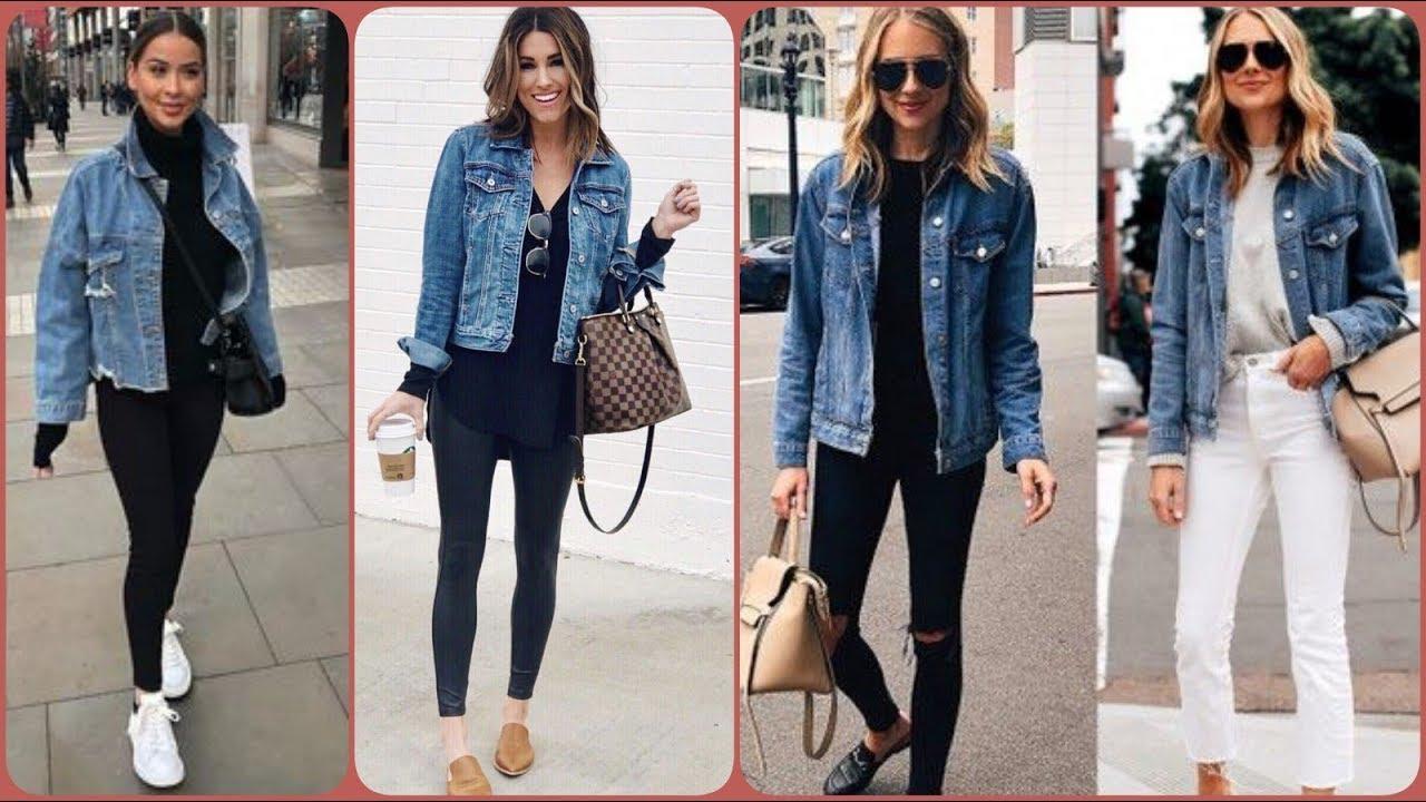 Denim Jacket In Many Ways  Denim Jacket Outfit Ideas For Women