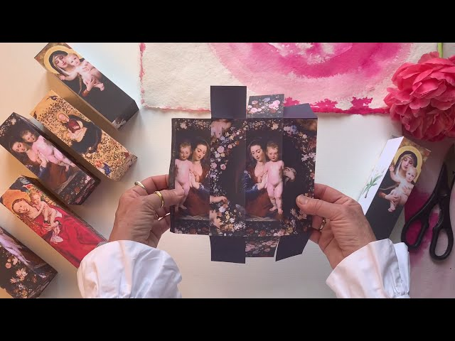 Making Madonna boxes with Two by Two Creators