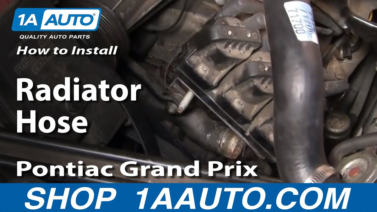 How To Install Replace Lower Radiator Hose Grand Prix Regal Lumina