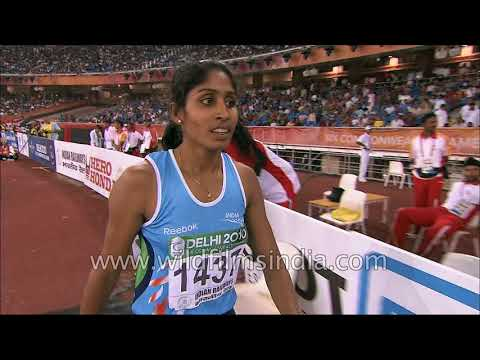 Prajusha Maliakkal from India wins silver medal in long jump