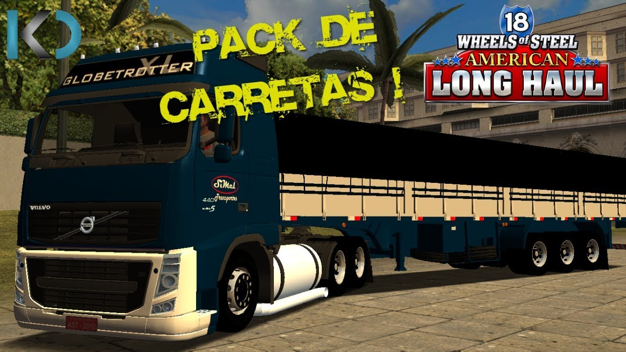 carretas brasileiras no 18 wheels of steel haulin