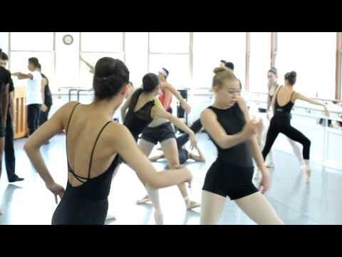 "Joffrey Ballet School NYC ""A Day In The Life of A Student"" Feat. Emily Whittome"