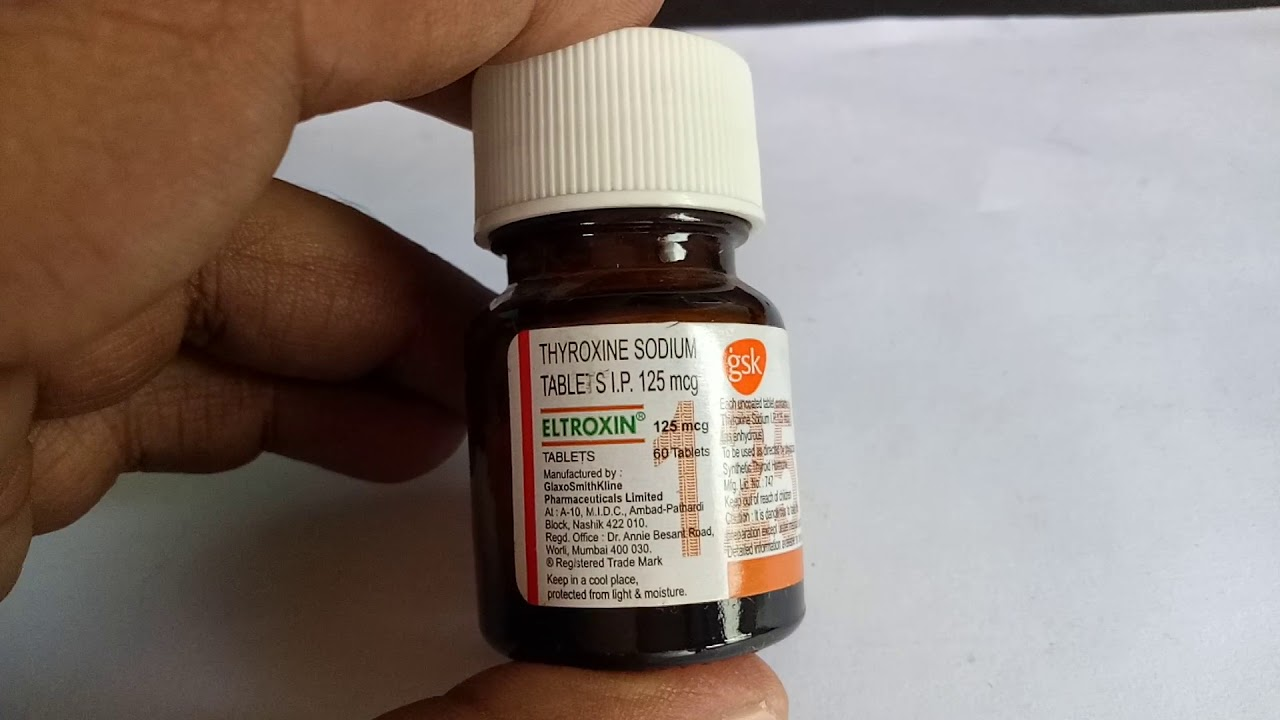 Eltroxin 125 Mg Tablet Full Review Youtube