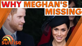 The REAL reason MEGHAN MARKLE is MISSING from Prince Philip's funeral | Sunrise