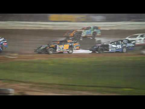 Part 3/4       7-30-16 ABC Raceway Modified Feature Jeff Spacek