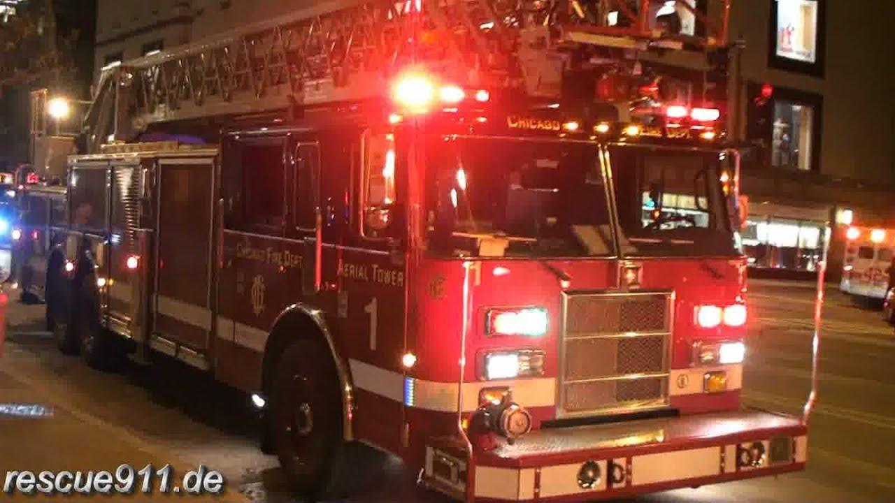 High Rise Fire Chicago Fire Department Ride Along