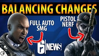 Balancing Changes, Clash Full Auto, Cav Nerf - Y3S4.2 - 6News - Tom Clancy