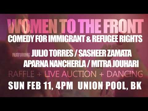 Women to the Front | Immigrant and Refugee Benefit | Feb 11 | Union Pool, BK