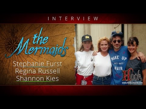 HOOK Interview with The Mermaids - Stephanie Furst, Regina Russell and Shannon Kies