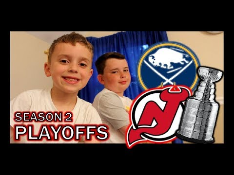 KNEE HOCKEY PLAYOFFS - SABRES / DEVILS - EASTERN CONFERENCE QUARTERFINALS - SEASON 2 - QUINNBOYSTV
