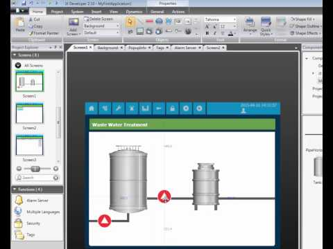 Configure tags and communication in iX Developer, Video 3 by Beijer Electronics
