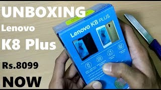 Lenovo K8 Plus Unboxing Hands on Review in Hindi | Mr technical