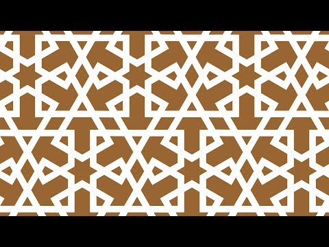 Islamic shapes and islamic geometric patterns design - tutorial corel draw - 012