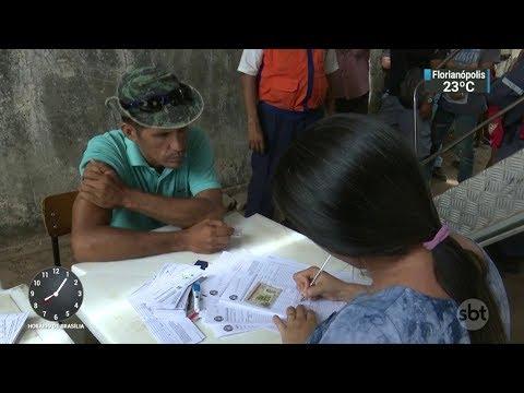 Governo de RR pede barreira sanitária na fronteira com a Venezuela | SBT Brasil (15/02/18)