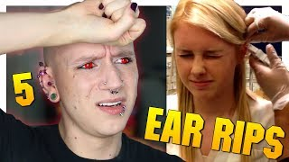 Reacting To Piercing Gun Fails | Piercings Gone Wrong 5 | Roly Reacts
