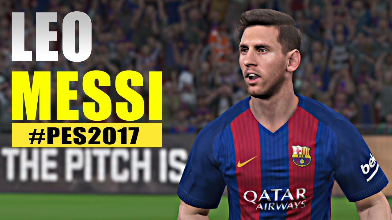 PES 2017 Leo Messi
