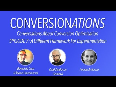 A different experimentation framework with Andrew Anderson & Chad Sanderson