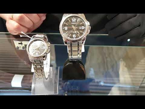 Подборка парных часов от фирмы Casio,  часы для него и для неё.