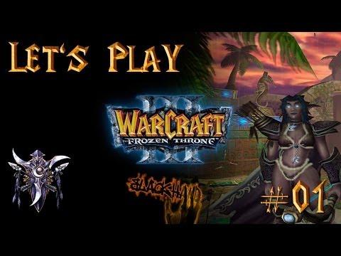 Let's Play Warcraft 3 Addon - Nachtelfenkampagne (Deutsch German) #01 - Aufstieg der Naga