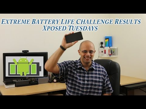 Extreme Battery Life Challenge Results -Xposed tuesdays