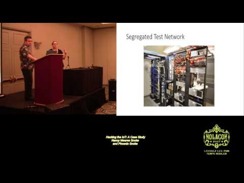 NolaCon 2017 GBC00 Hacking the IoT A Case Study Nancy Meares Snoke and Phoenix Snoke