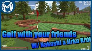 Jsme míčky!   Golf with your friends #01 [MarweX&Nakashi&Jirka Král]