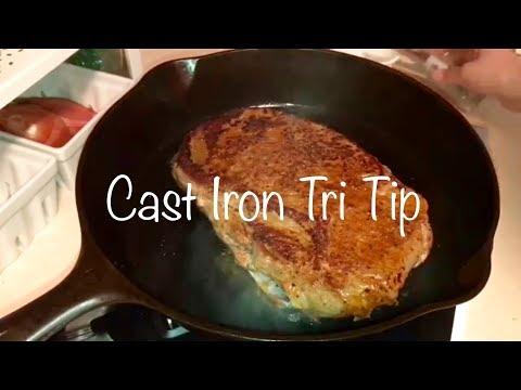 Cast Iron Tri Tip