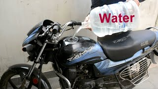 How to Run Bike With Water - Acetylene || Experiment || No Petrol